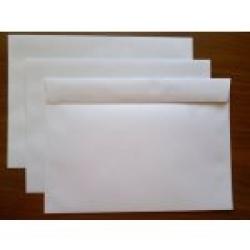 Dopisní obálka C5 samolepící, uzávěr na delší straně - balení 0,46 Kč/ks