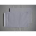 Obchodní tašky obálky C5 bílé samolepící - balení 500 ks