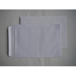 Obchodní taška obálka C5 bílá samolepící - balení 0,45 Kč/ks